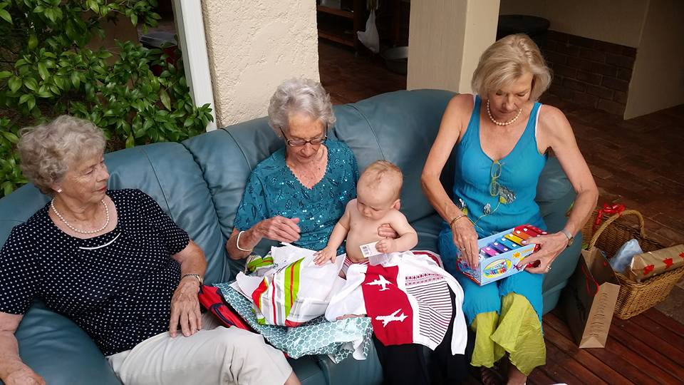 xmas with grannies