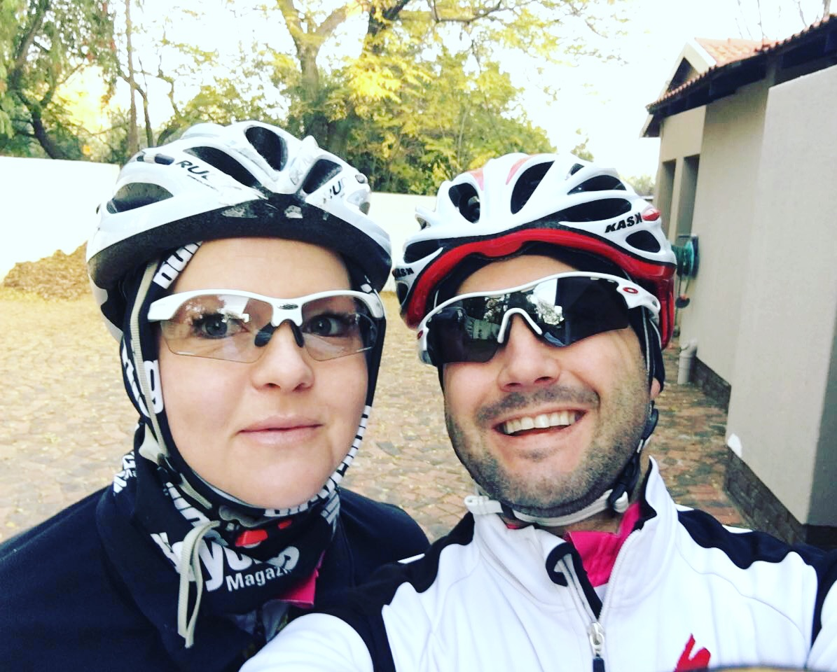 Freezing morning rides